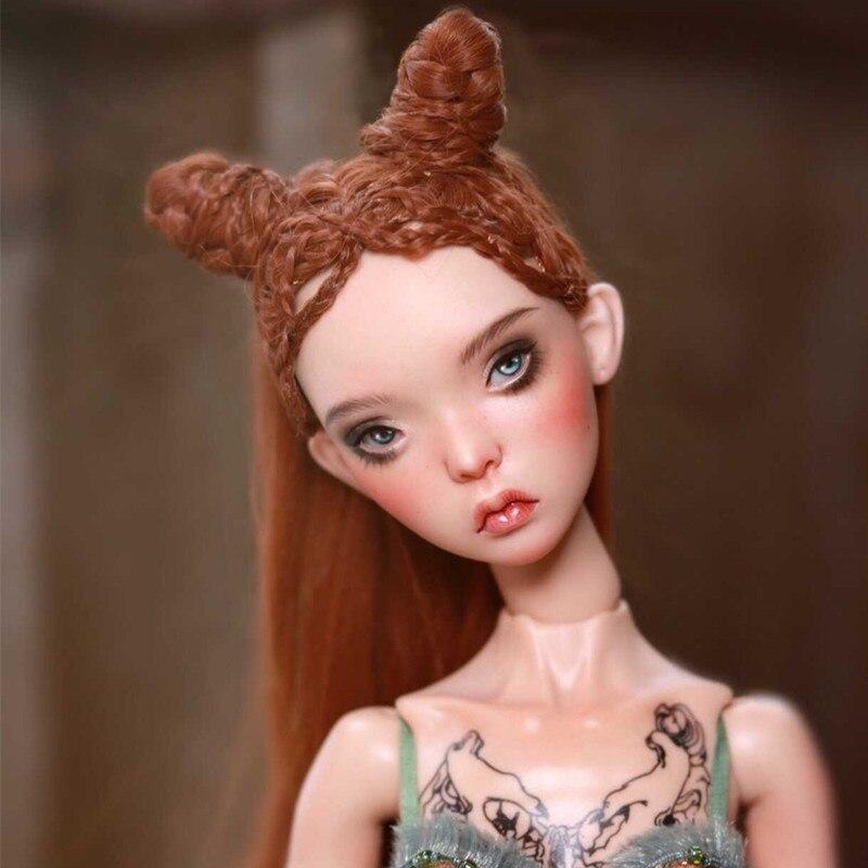 BJD DOLL 1/4 BJD Doll Kunis Girls Ball Doll Fashion Resin Doll Free Face Up Details Birthday Gift Free Shipping